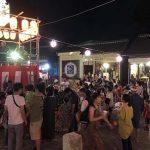 本日15日の納涼盆踊りは、台風接近のため中止とさせて頂きます。